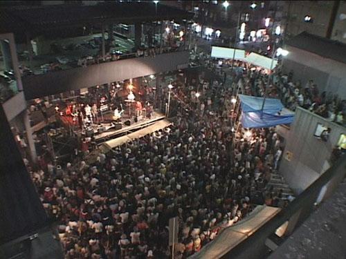 寿町フリーコンサート、会場俯瞰